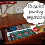 Recycled jewelry storage