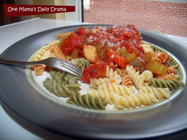 Rustic Italian chicken recipe in the slow cooker