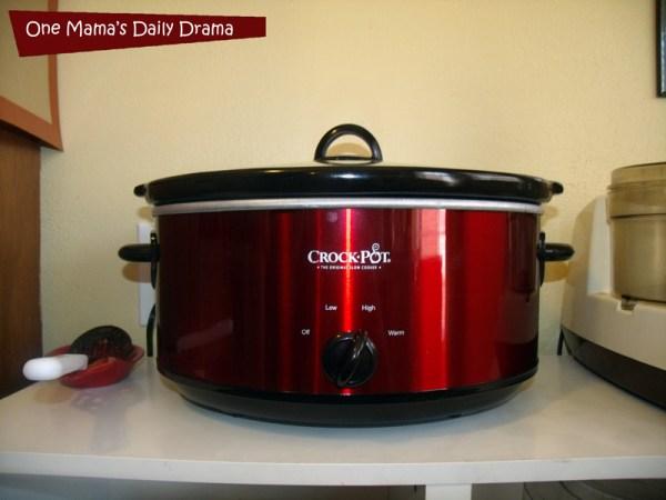 Slow cooker rustic Italian chicken recipe