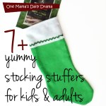 7+ yummy stocking stuffers for kids & adults