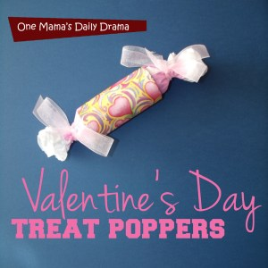 Valentine's Day treat poppers