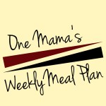 Menu Plan: April 27-May 3
