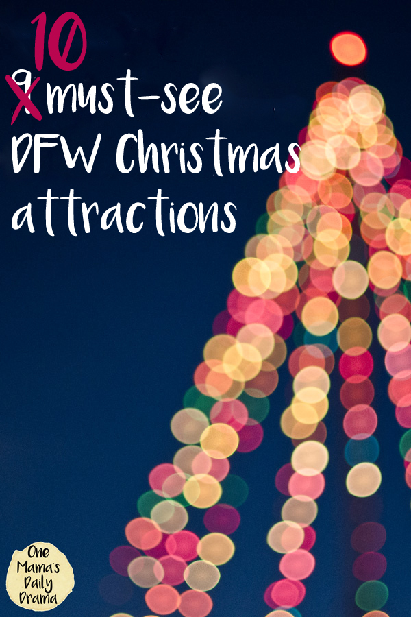 There is no shortage of things to do with the family in DFW just about any day of the year. During the holiday season, Thanksgiving through Christmas, the festivities get more... well, festive! I rounded up some of my favorites and a few new ones for my family this year. Put these 10 must-see DFW Christmas attractions on your holiday schedule whether you're a local or a visitor.