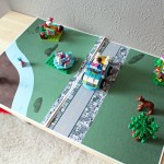 Printable play mat for LEGO and more