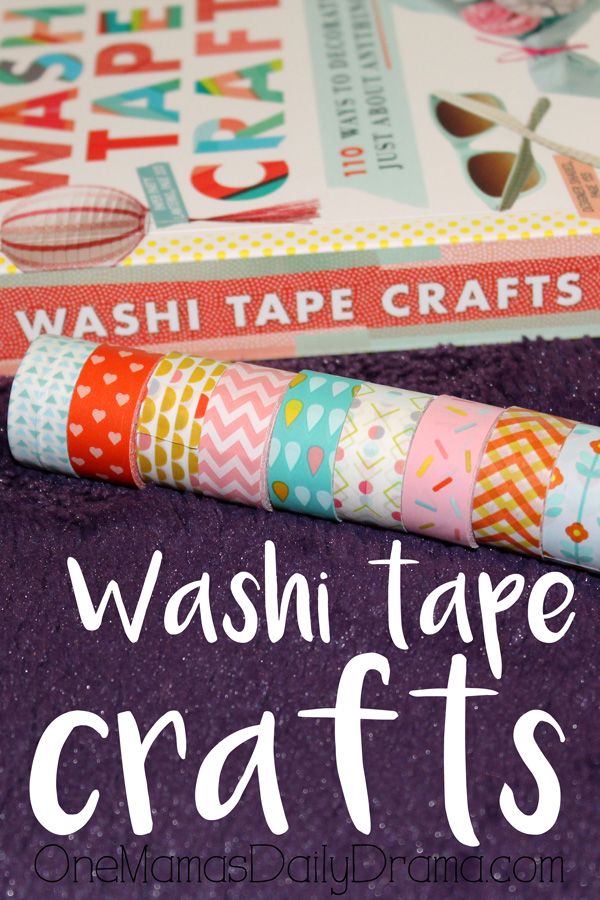 Washi tape crafts | How to update a light switch plate with washi tape and 100+ more ideas