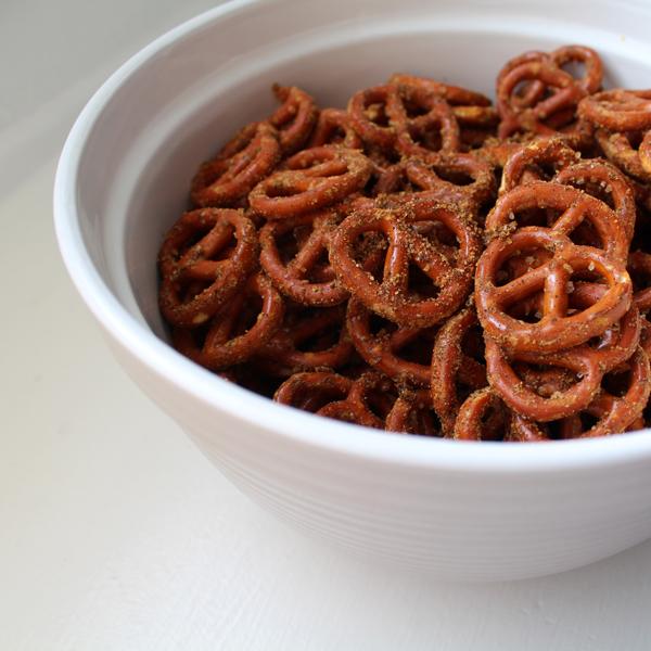 Doritos flavored pretzels