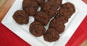 Triple chocolate dark side cookies