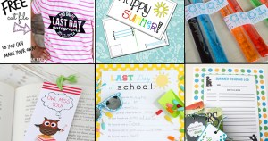 12 fun & free end of school printables