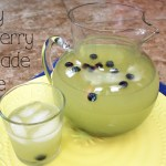 Honey blueberry lemonade