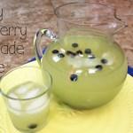 Honey blueberry lemonade