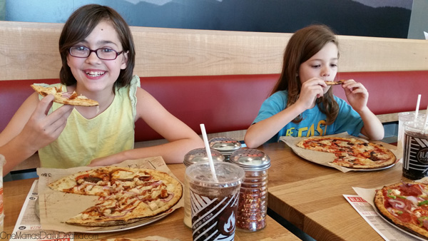 Blaze Pizza: build your own with any toppings - Perfect for picky eaters!