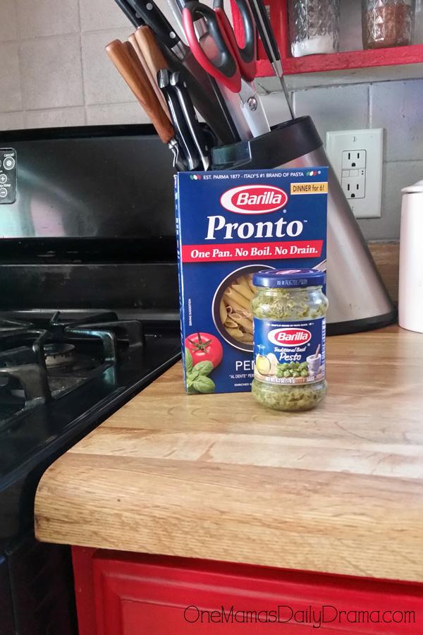 Barilla Pronto Penne Pasta & Pesto Sauce