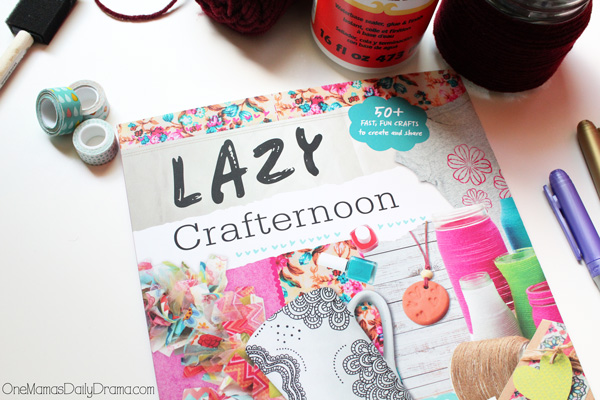 How to host a lazy crafternoon craft party for tweens | OneMamasDailyDrama.com