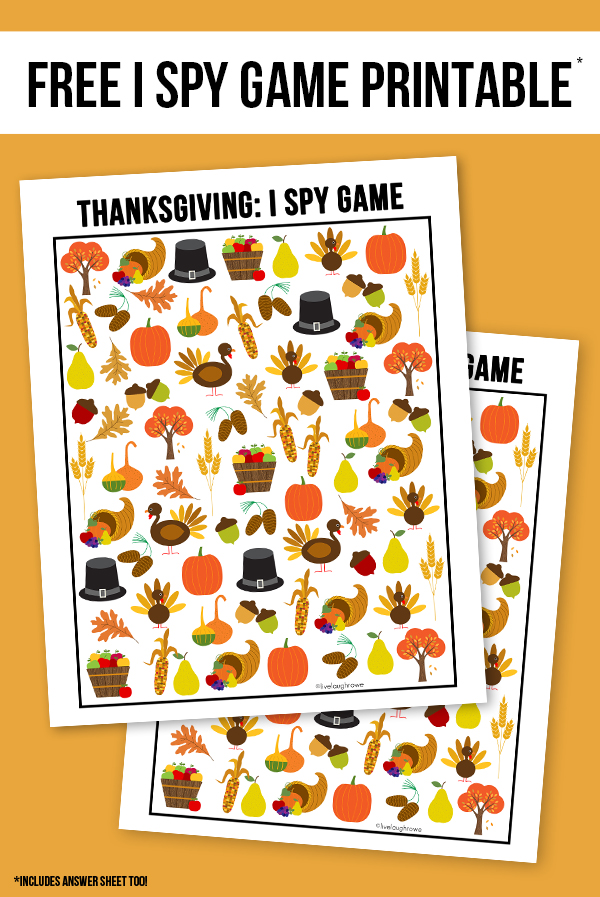Thanksgiving kids activities   I Spy from Live Laugh Rowe