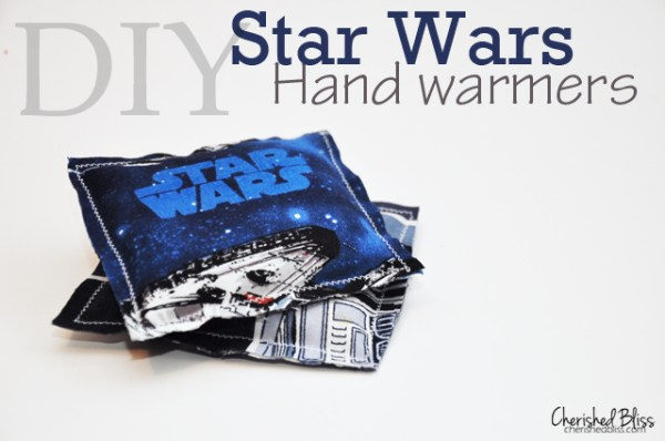 DiY Star Wars hand warmers from Cherished Bliss
