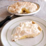 No-bake banana pudding pie recipe from One Mama's Daily Drama