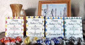 Hogwarts Mother's Day printable gift