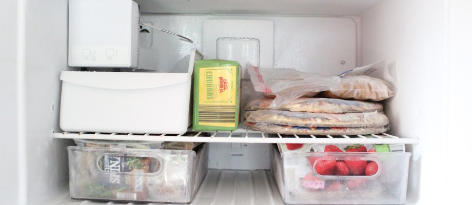 How to organize your refrigerator and freezer