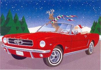 Santa's new ride!