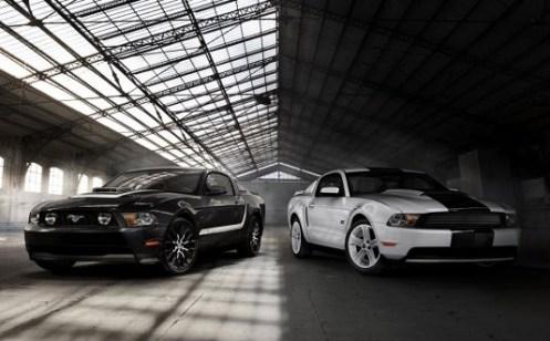 Yin & Yang Mustang