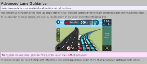 tt lane guide