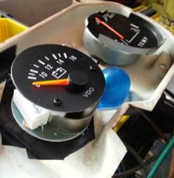 Voltmeter second coat applied