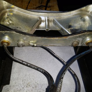 retaining screws and wires