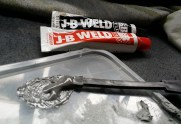 mixing the JB Weld
