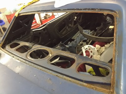 rear glass removed