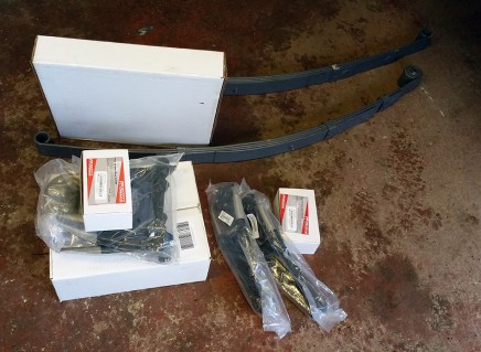 leaf springs and all parts