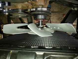 Remove Fan screws