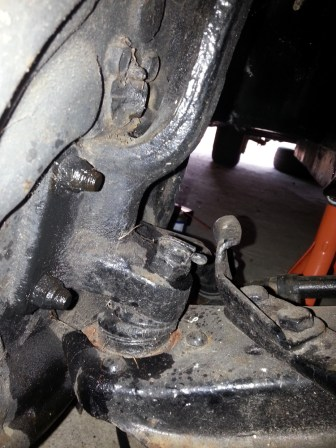 Back plate bolts