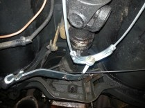 hand brake adjustment linkage