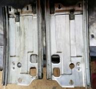 frame Insides cleaned