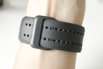 The large wristband with a dual pin setup