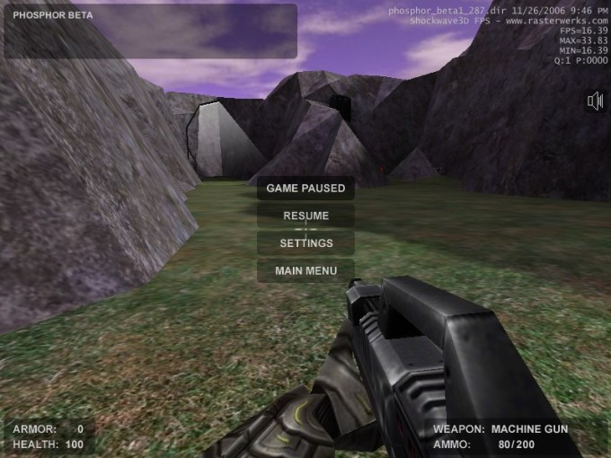 Phosphor  Free Online 3D First Person Shooter Game