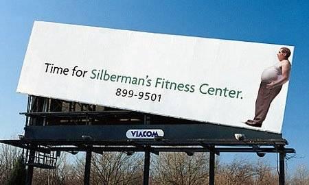 Billboard Silberman's Fitness