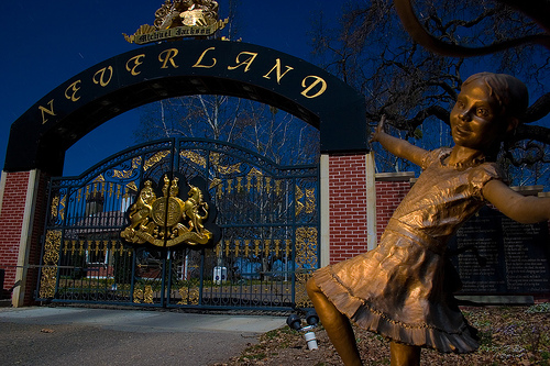 Neverland Ranch Front Gate