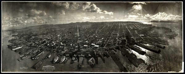 Ruins of San Francisco in 1906