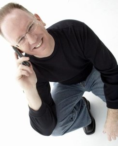 John P. on the Phone