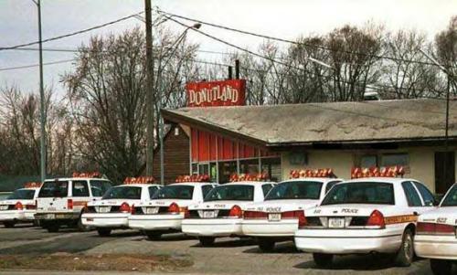 Cops at Donutland