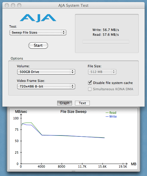 500GB Drive - Sweep File Sizes
