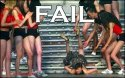 Falling Down the Steps Fail