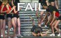 Falling Down the Steps Fail
