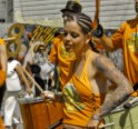 Tattooed Drummer Girl