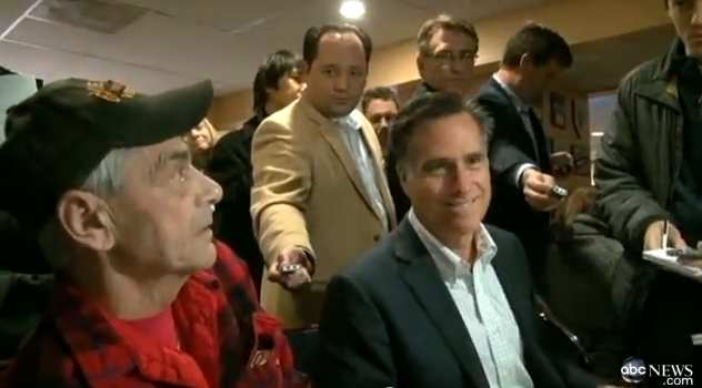 Mitt Romney and Gay Vietnam Veteran