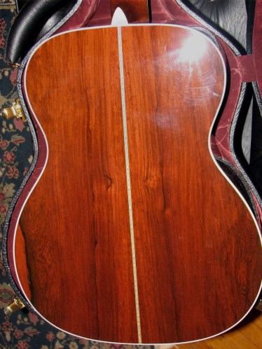 Martin OM-42 Deep Body review at One Man's Guitar onemanz.com Madagascar rosewood