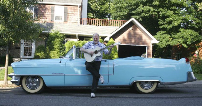 Stan Jay 1955 Cadillac and Collings C10 Deluxe Custom