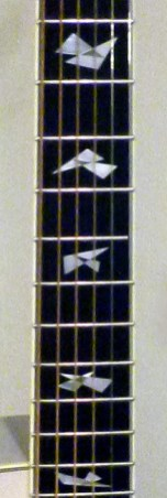 Collings C10 DLX fret markers