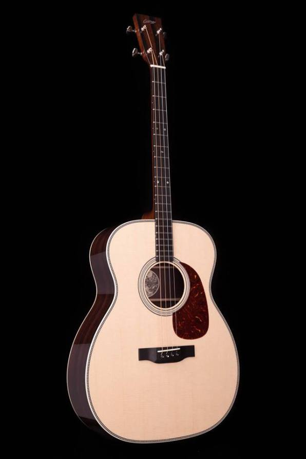 Collings Tenor 2H 0 size body NAMM 2017 One Man's Guitar onemanz.com